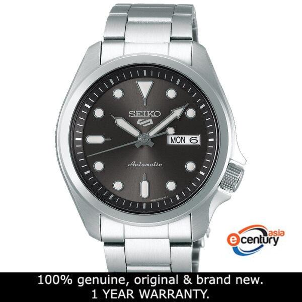 Seiko 5 Sports SRPE51K1 Gents Automatic Day-Date 100M Stainless Steel Bracelet Watch Malaysia