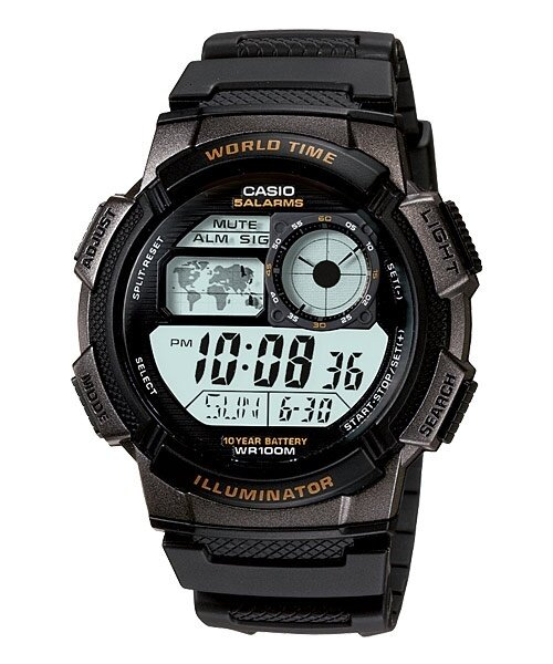 CASIO Men Digital Watch Jam Casio Digital Ori Lelaki AE-1000W 10 Years Batt. Malaysia