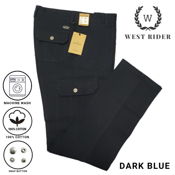 HEAVY DUTY WORKING PANTS / CARGO PANTS / SELUAR KERJA 1088 - DARK BLUE