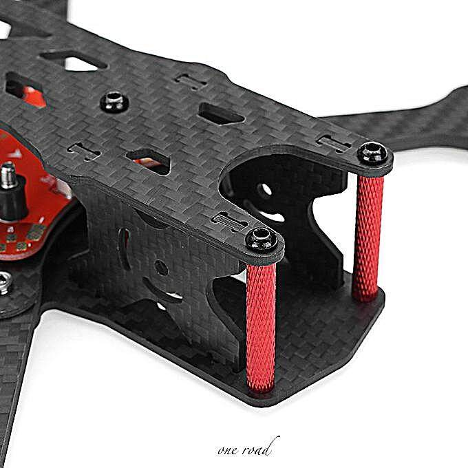 Real 4 220Mm Wheelbase 4Mm Arm X Frame Kit With Pdb Board For Rc Uav Fpv Racing Car-