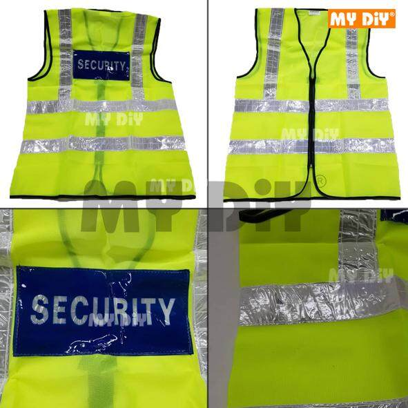 DIYHARDWARESTATION - Transparency Security Safety Vest With Reflective Strip / Reflective Strip Safety Vest with Security Word