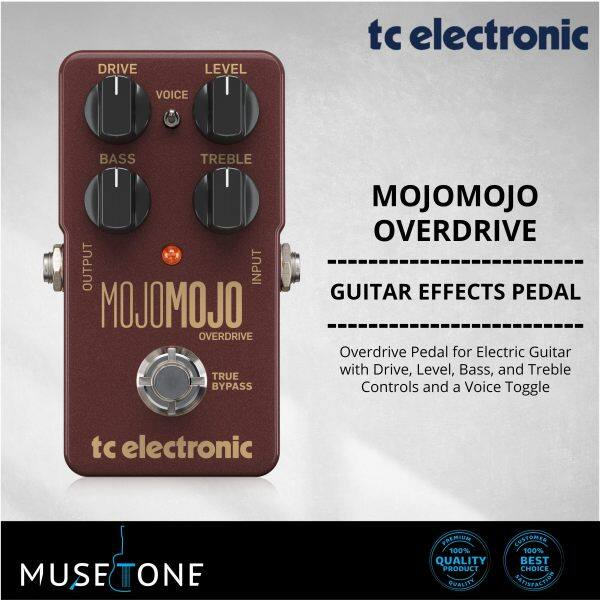 TC Electronic MojoMojo Overdrive Guitar Effects Pedal Malaysia