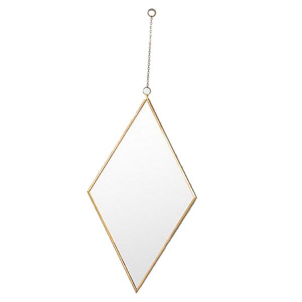 WDClever, Gương Trang Trí Bằng Vàng Sắt Rèn Kiểu Bắc Âu Gương Treo Tường Phòng Tắm