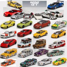 MiniGT1:64 Ford ToyotaBMW Benz 190e 911 992 Taycan McLaren Nissan Pandem Pagani Land Rover Bentley Collection Limited Khuôn Đúc