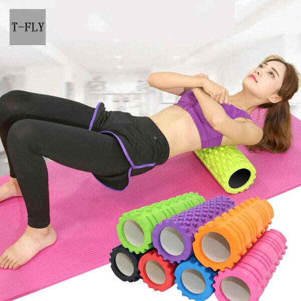 T-FLY Con Lăn Xốp Thư Giãn Tập Thể Dục Mật Độ Cao Mát Xa Vật Lý Trị Liệu Mát Xa Tập Yoga Pilates Cơ Lưng