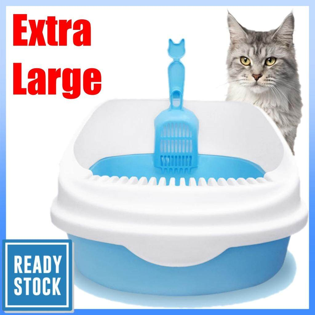 Cat Litter Box Tandas Kucing EXTRA LARGE With Free Scoop