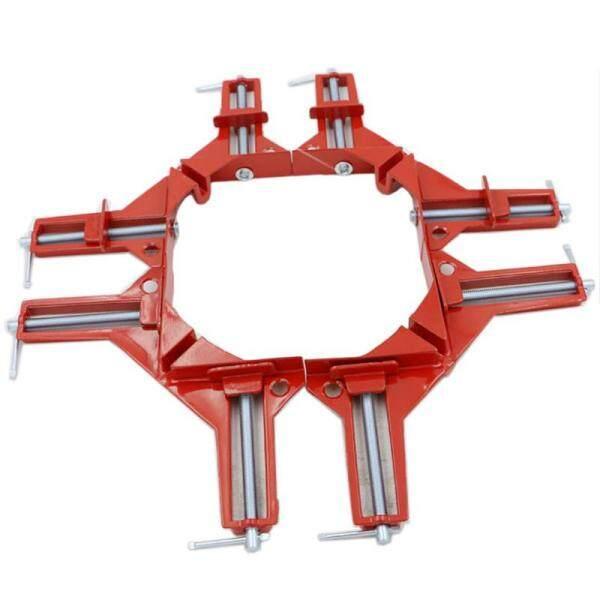 4PCS Zinc Alloy 90 Degree Right Angle Corner Clamp Picture Photo Frame Corner ,Right Angle Corner Frame Clip