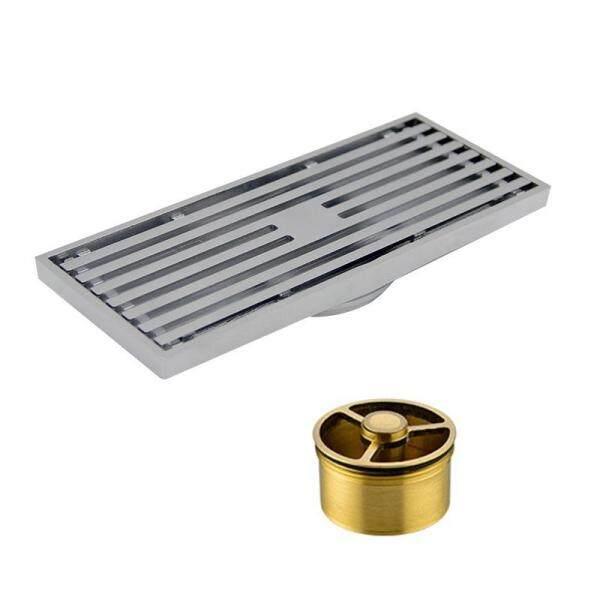 Invisible Stainless Steel Floor Linear Waste Grates Grid Strainer Shower Drain Bathroom Anti-odor Floor Drainer