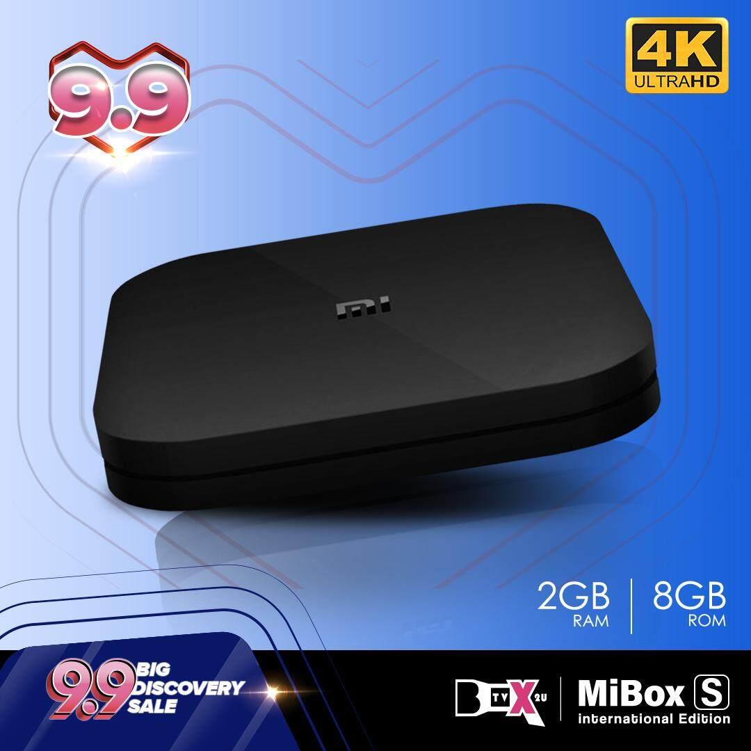 Global English Version Mibox_S Mi_box MDZ-22-AB Android 8 1 Oreo Smart  TVBox Android box (10k+ movies & channels ) xiaomi xiao mi tvbox IPTV  malaysia