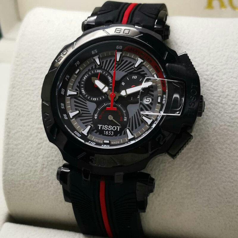 TISSOT_TRACE SPORTS LIMTED EDITION ALL FUNCTION WORKING_ GENEVE MOVEMENT SHOCKING DEAL Malaysia
