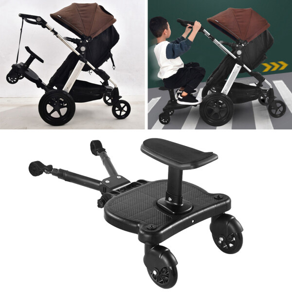 Homyl Children Buggy Board Wheeled Pushchair Stroller Step Board Load Up To 25kg Singapore