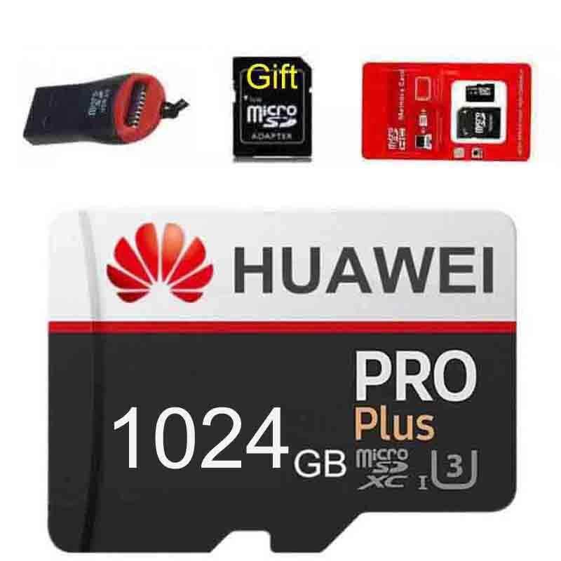 Giá Sẵn Sàng Xác Thực Huawei U3 1024 GB 1 TB Bộ Nhớ Micro SD Thẻ XC Class 10 1024G 1T + đầu Đọc & Adapter