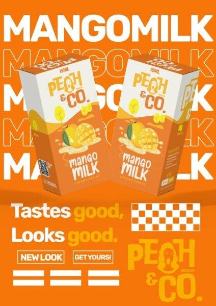 Peah & Co Milk Edition 15ml New Version Original E-Juice Malaysia