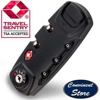 ✅TSA007 3 การรวมระบบดิจิตอลแม่กุญแจ & กระเป๋าเดินทาง TSA Secure ล็อครหัส - สะดวกและติดตั้งได้ง่ายโดยสะดวก Store-