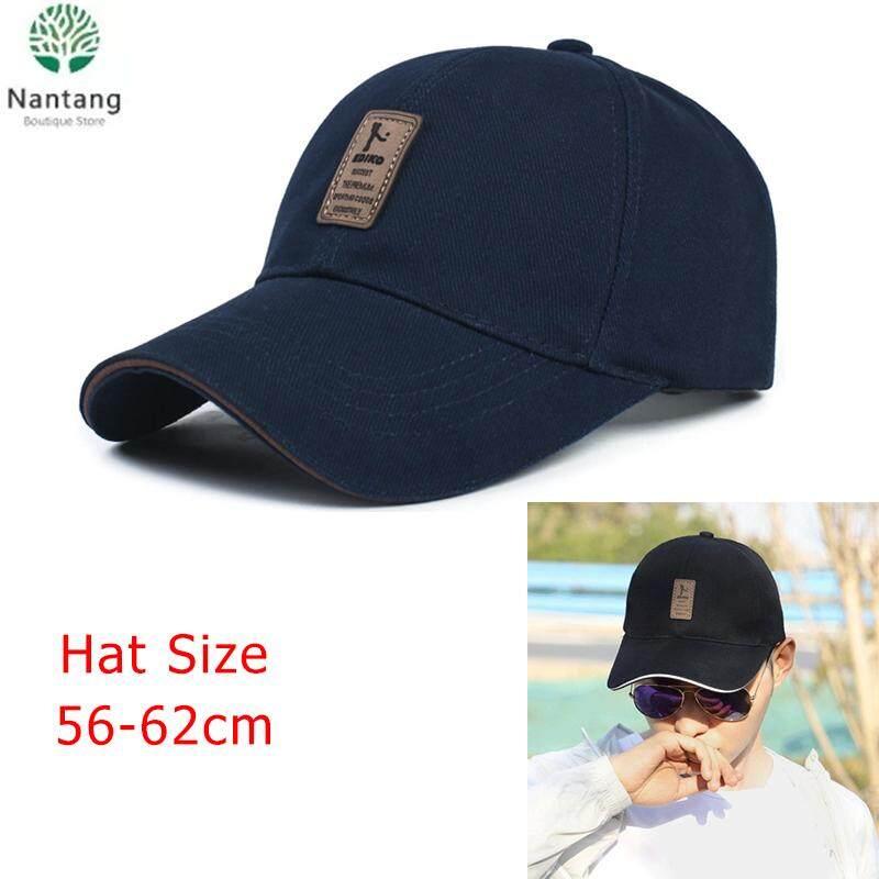 fd2eeb5f 【Hot Selling】PREMIUM QUALITY Unisex Fashion Baseball Cap Sports Golf  Snapback Outdoor Simple Solid Hats For Men Bone( Cream-colored)