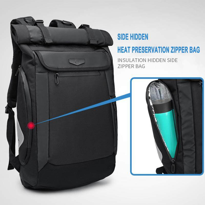 Image 3 for Yiliongdaqi ใหม่ผู้ชายกระเป๋าเป้สะพายหลังมัลติฟังก์ชั่ USB ชาร์จแล็ปท็อปกระเป๋าแฟชั่นกระเป๋านักเรียน