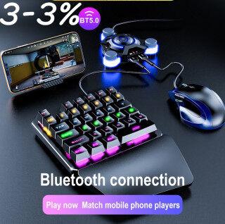 Tay Cầm Chơi Game Di Động Bộ Chuyển Đổi Chuột Bàn Phím Chơi Game Bộ Chuyển Đổi Trò Chơi Di Động PUBG Bluetooth 4.0 Tay Cầm Chơi Game Bộ Chuyển Đổi Chỉ Dành Cho IOS Android thumbnail