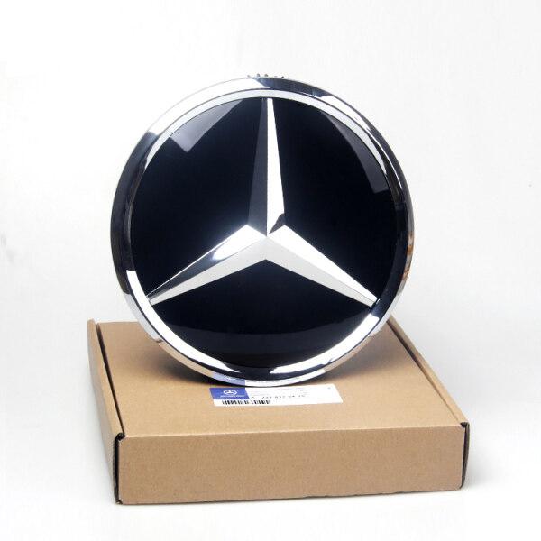 Biểu Tượng 185Mm Cho Mercedes Benz All GLA GLK ML GL Series Logo Mặt Trước Lưới Tản Nhiệt Biểu Tượng Bề Mặt Hiệu Ứng Tráng Gương Cứng Bằng Nhựa Acrylic