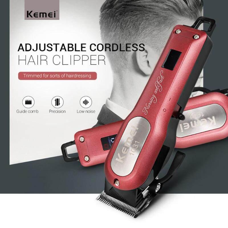 Kemei Multifunctional Hair Salon Electric Haircut Cordless Trimmer LED