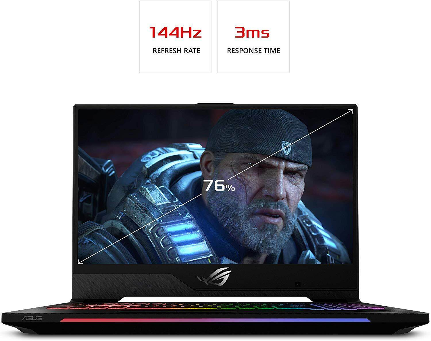 "Asus ROG Strix Scar II Gaming Laptop, 15.6"" 144Hz IPS Type Full HD, NVIDIA GeForce RTX 2070, Intel Core i7-8750H, 16GB DDR4, 512GB PCIe Nvme SSD, RGB KB, Windows 10, Malaysia"