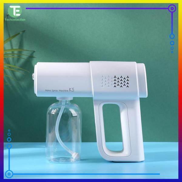 Handheld Repellent Nano Sprayer Blue-Light Home Atomization Cleaner Disinfection Sprayer Accessory Singapore