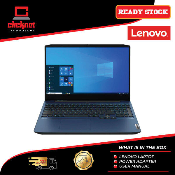 Lenovo IdeaPad Gaming 3 15ARH05 82EY00SCMJ 15.6 Laptop Chameleon Blue ( Ryzen 5 4600H, 8GB, 512GB SSD, GTX1650Ti 4GB, W10 ) Malaysia
