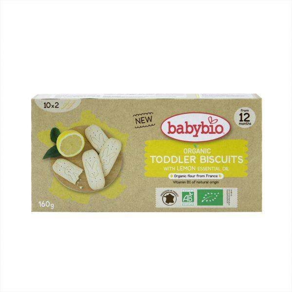Babybio Organic Lemon Biscuits for Toddlers 160g