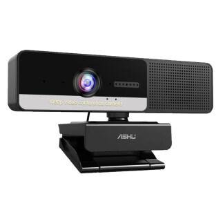 Webcam Video Độ Phân Giải Cao ASHU 2M Pixel 1920X1080P Với 4 Micro Giảm Tiếng Ồn M-agnetic P-rivacy Cam P-rotection Thiết Kế USB2.0 C-cổng Kết Nối C Máy Ảnh PC Cho Video di Động Ghi Âm Trực Tiếp Hội Nghị thumbnail
