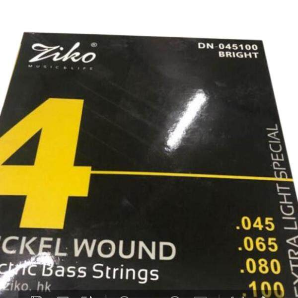 Ziko Dn-045 045-100 Bass Electric Guitar Strings Guitar Parts Musical Instruments Accessories Malaysia