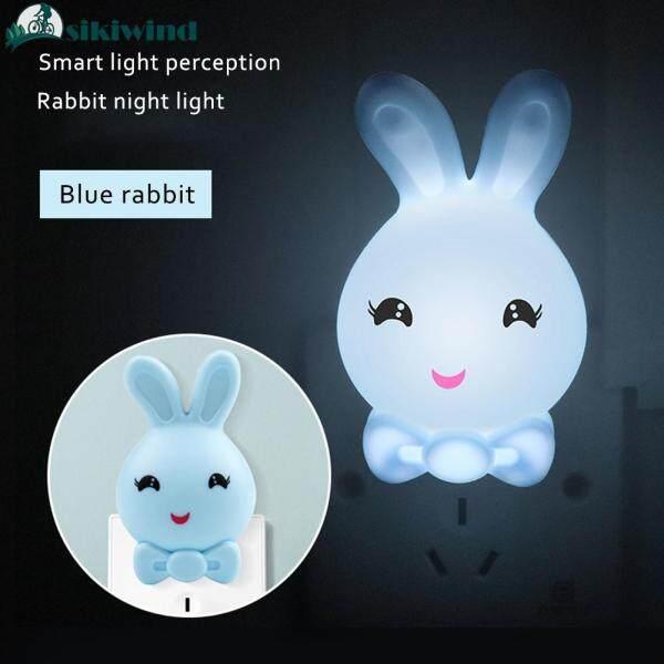 Bảng giá Sikiwind Đèn Ngủ LED Đèn Bàn Đầu Giường Thông Minh Hình Thỏ Dễ Thương Trang Trí Phòng Ngủ