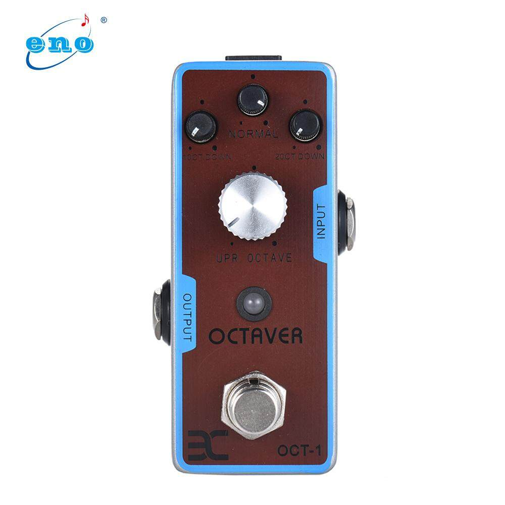 ENO EX OCT-1 OCTAVE Mini Octave Guitar Effect Pedal True Bypass Full Metal Shell
