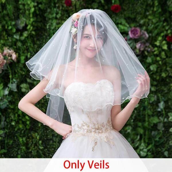 Đám cưới Voan Gạc Đóng Đinh Ngọc Trai Hôn Nhân Hai Lớp Cô Dâu Mạng Che Mặt