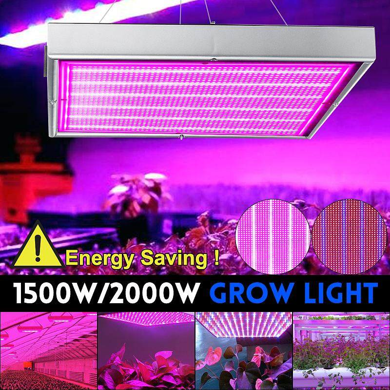 2000W LED Grow Light Hydroponic Plant Bulb Lamp Panel Board Growth Full Spectrum