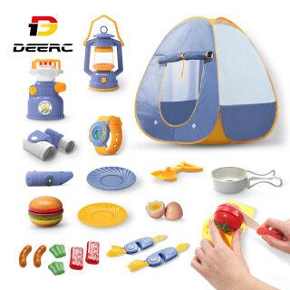 Lều gập di động DEERC FDE8850 không cần lắp đặt kiểu dáng đơn giản dùng chơi trong nhà ngoài trời thích hợp làm quà tặng cho bé trai và bé gái - INTL thumbnail