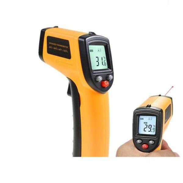 Gm320 non-contact laser - 50 ~ 400 ℃ infrared temperature measurement infrared high temperature measurement infrared laser temperature measurement industrial high temperature meter 50%OFF