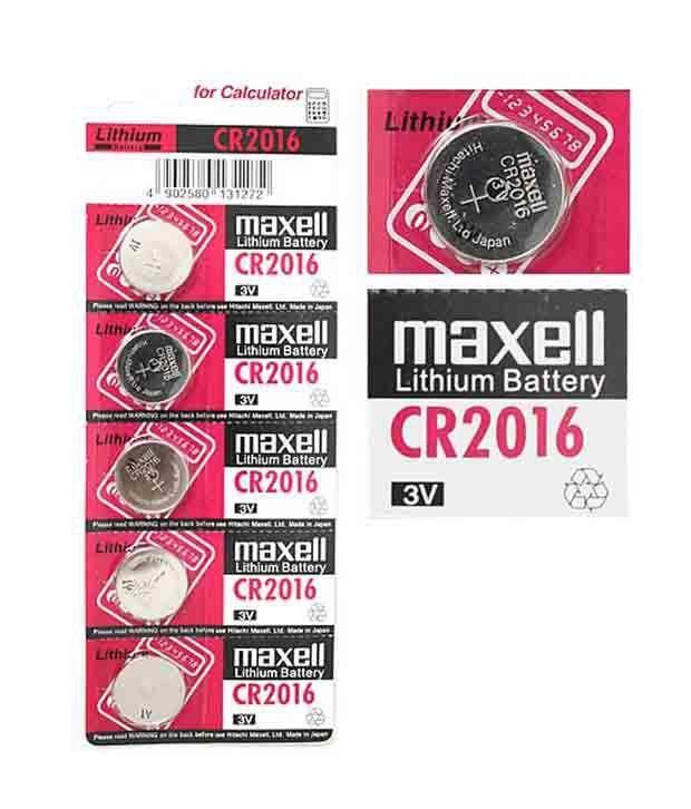 Maxell CR2016 - Micro Lithium Battery (1PCS)