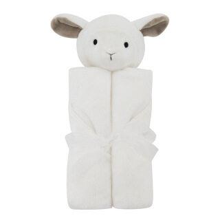 Chăn Trẻ Em, Bộ Đồ Giường Em Bé 76X76Cm, Quà Sinh Nhật Mùa Đông Lông Cừu San Hô Mềm Ấm Cho Trẻ Sơ Sinh Đồ Chơi Nhồi Bông Giáo Dục Động Vật Sang Trọng thumbnail