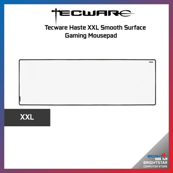 Tecware Haste XXL Smooth Surface Gaming Mousepad Black / White Malaysia