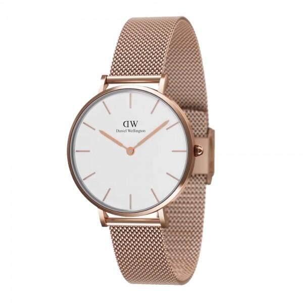 1fdf4b3baf60 Pre DW00100163 Classic Petite Melrose 32mm White DialMeshStrapRoseGoldMesh  Watch