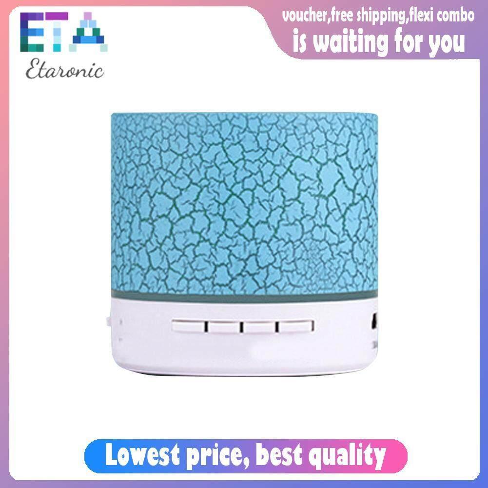 Etaronicy A9 Mini Portable Wireless Bluetooth Speaker Crack Light TF USB Subwoofer