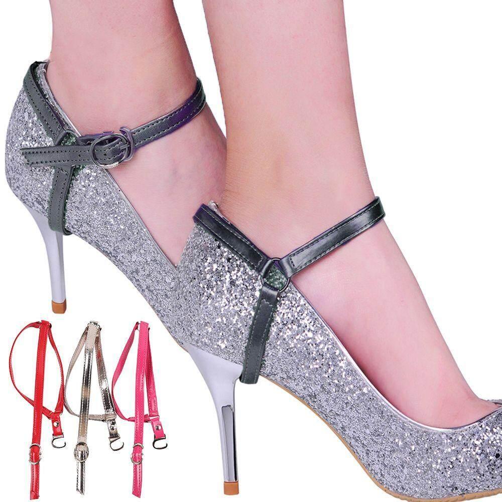 Giá bán 1 * Hữu Ích Da PU Thời Trang Giày Khóa Có Thể Điều Chỉnh Shoestring Nữ Cao Gót Dây Giày Giày Giày Quai Dây Lưng Dây Giày
