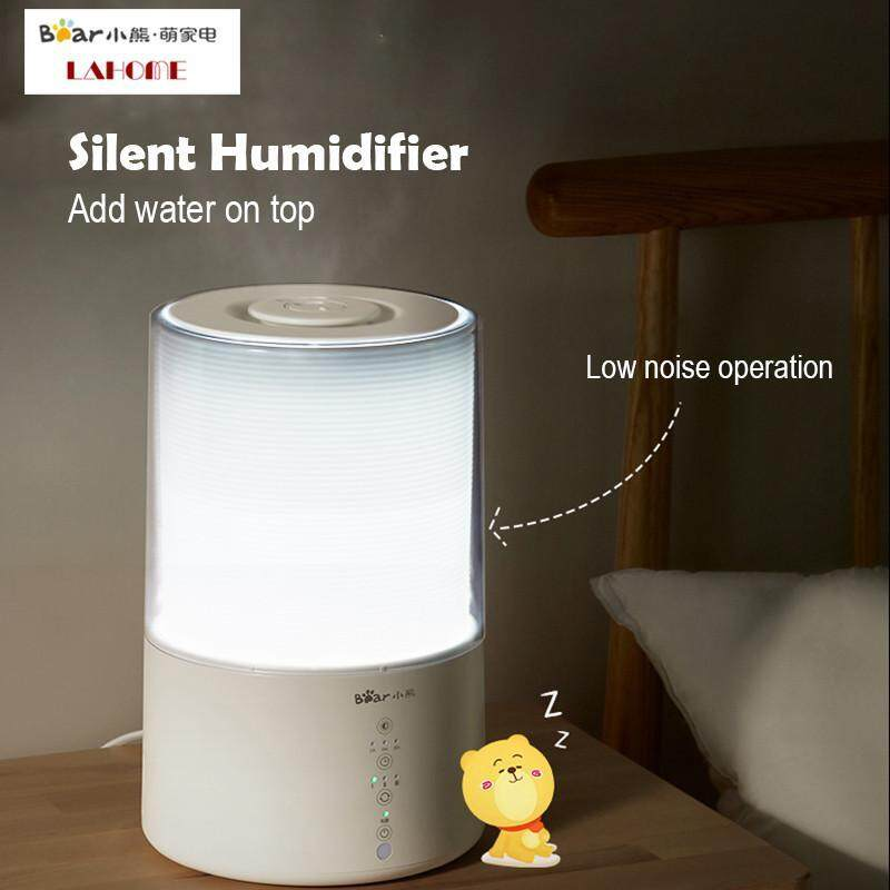 Bear Humidifier Home Mute Bedroom Pregnant Woman Baby Foggy Water Plus Air Purification Sterilizing Aromatherapy Machine 3L Singapore