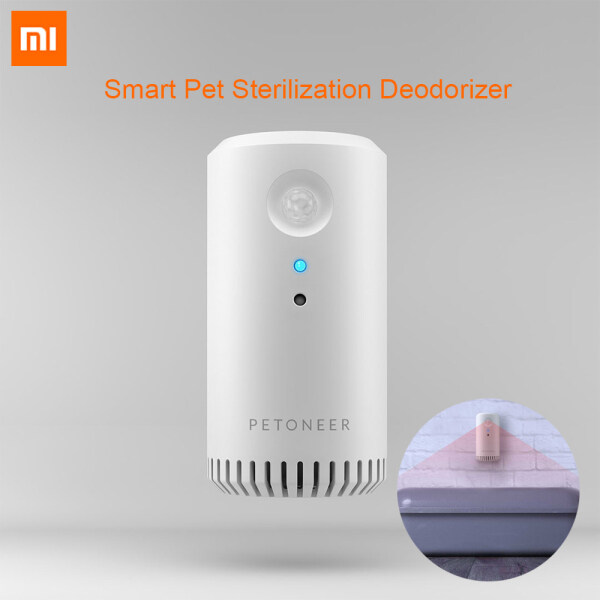 Xiaomi Mijia Petoneer Odor Eliminator Smart Pet Sterilization Deodorizer Infrared Timing Dual Mode USB Charging For Dogs And Cats 360 Degree Without Blind Spot Consumable-free Magnetic Mounting Trigger By Motion Or Timer Singapore