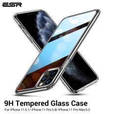 Ốp Lưng ESR Mặt Kính Cường Lực Cho iPhone 12 Mini, iPhone 12 Pro Max, iPhone 11 Pro Max, IPhone 11 9H, Bằng Silicon Mềm pin Dành Cho iPhone 11 Pro