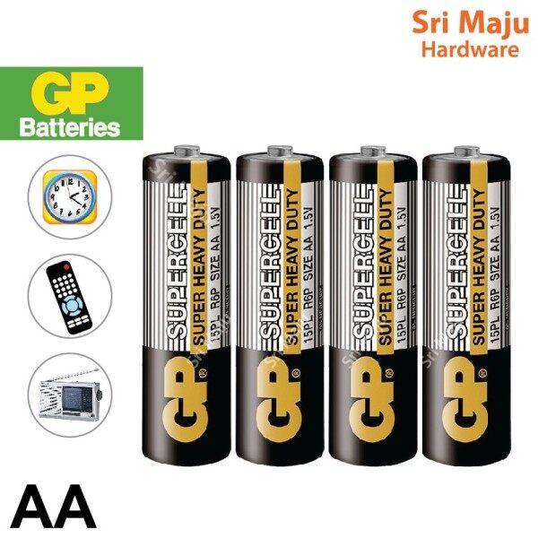 MAJU Original GP AA Battery for Remote Wall Table Clock Bateri AA