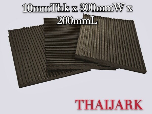 Anti Vibration Rubber Pad,  Anti Noise Rubber Pad, For Water Pump, 10mm x 300mm x 200mm