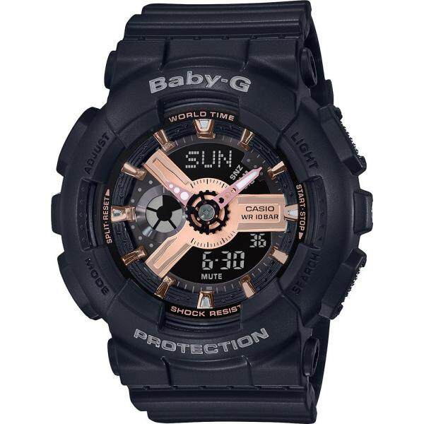 SPECIAL PROMOTION CASI0 BABY_GA110 DUAL TIME SILICON STRAP WATCH FOR WOMENS Malaysia