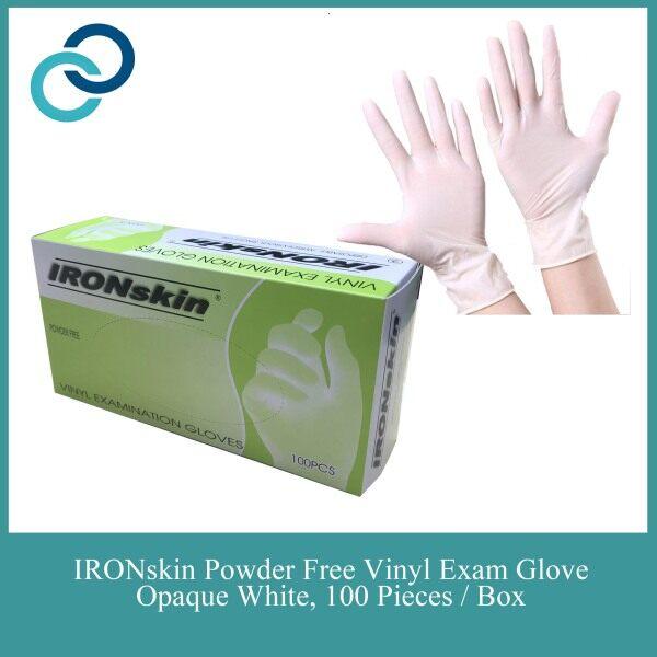 IRONskin Vinyl Examination Glove 100 pcs - S M L XL Size