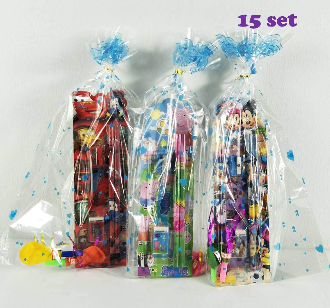 Stationery Set Perschool / Nursery /kindergarten Birthday Party Gift Special School Function (15,20,30pcs) By Sayang Bb House.