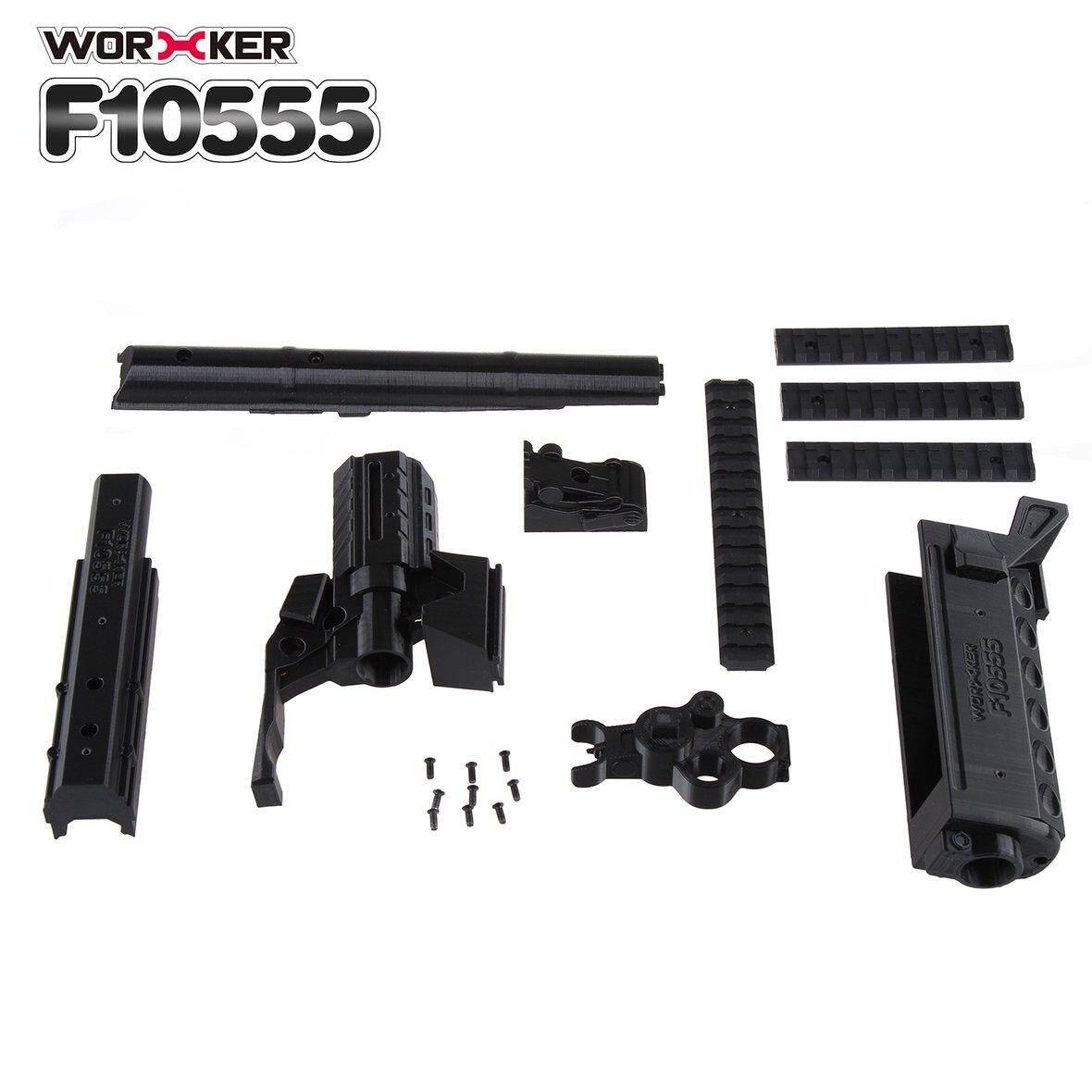 Bán Chạy Nhất Công Nhân In 3D Số 105 AK Series Bộ Sửa Đổi Loại Dài Cho Nerf Stryfe